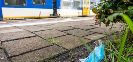 Mondkapjes zijn het nieuwe zwerfafval in opkomst in Rivierenland
