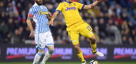 Juventus morst na twaalf zeges op rij weer eens punten