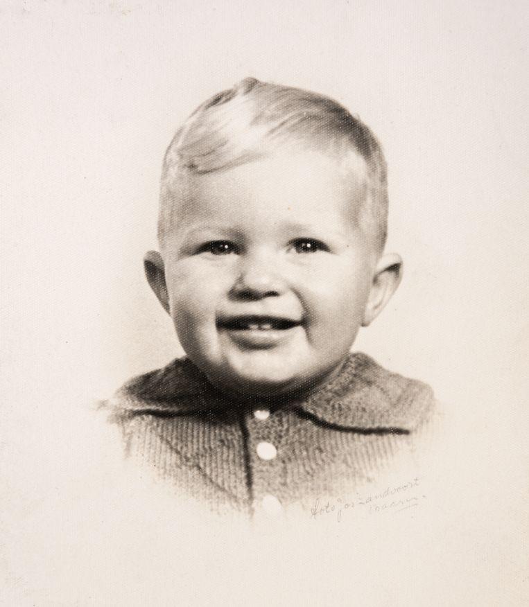 Fokko als baby Beeld Simon Lenskens