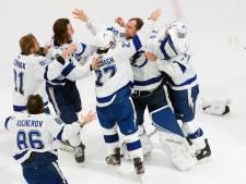 Tampa Bay Lightning wint Stanley Cup na meest bizarre seizoen ooit
