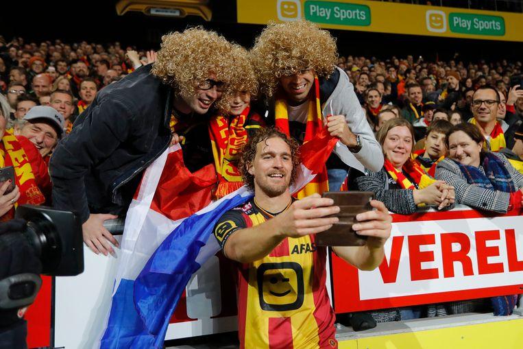 Persoonlijke fans voor Arjan Swinkels.