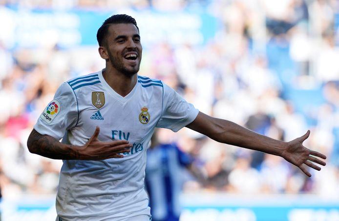 Dani Ceballos scoorde twee keer voor Real Madrid.
