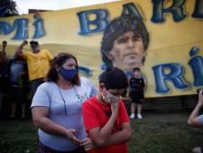 In Villa Fiorito klinkt nog één keer applaus voor Maradona