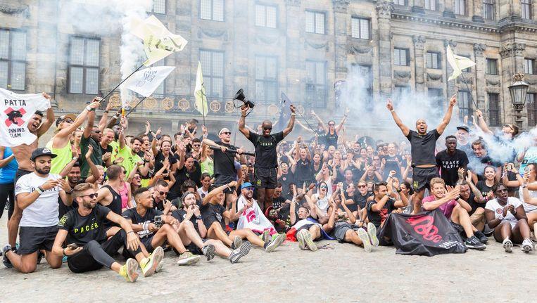 Dark: 'We zijn allemaal gasten die zich ervan bewust zijn dat running zo veel meer is dan sport.' Beeld Eelco Roos