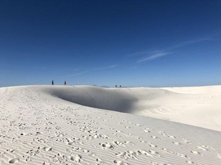 Het Collectief trekt door alsemzeeën en woestijnen van alkalizand.   Beeld BELGAIMAGE