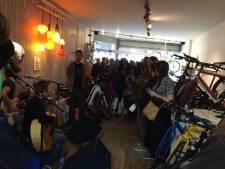 Les champions de Mountain Bike en démonstration chez Velofixer
