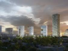 Plan voor drie woontorens die samen 013 vormen, 'Een advertentie voor Tilburg'
