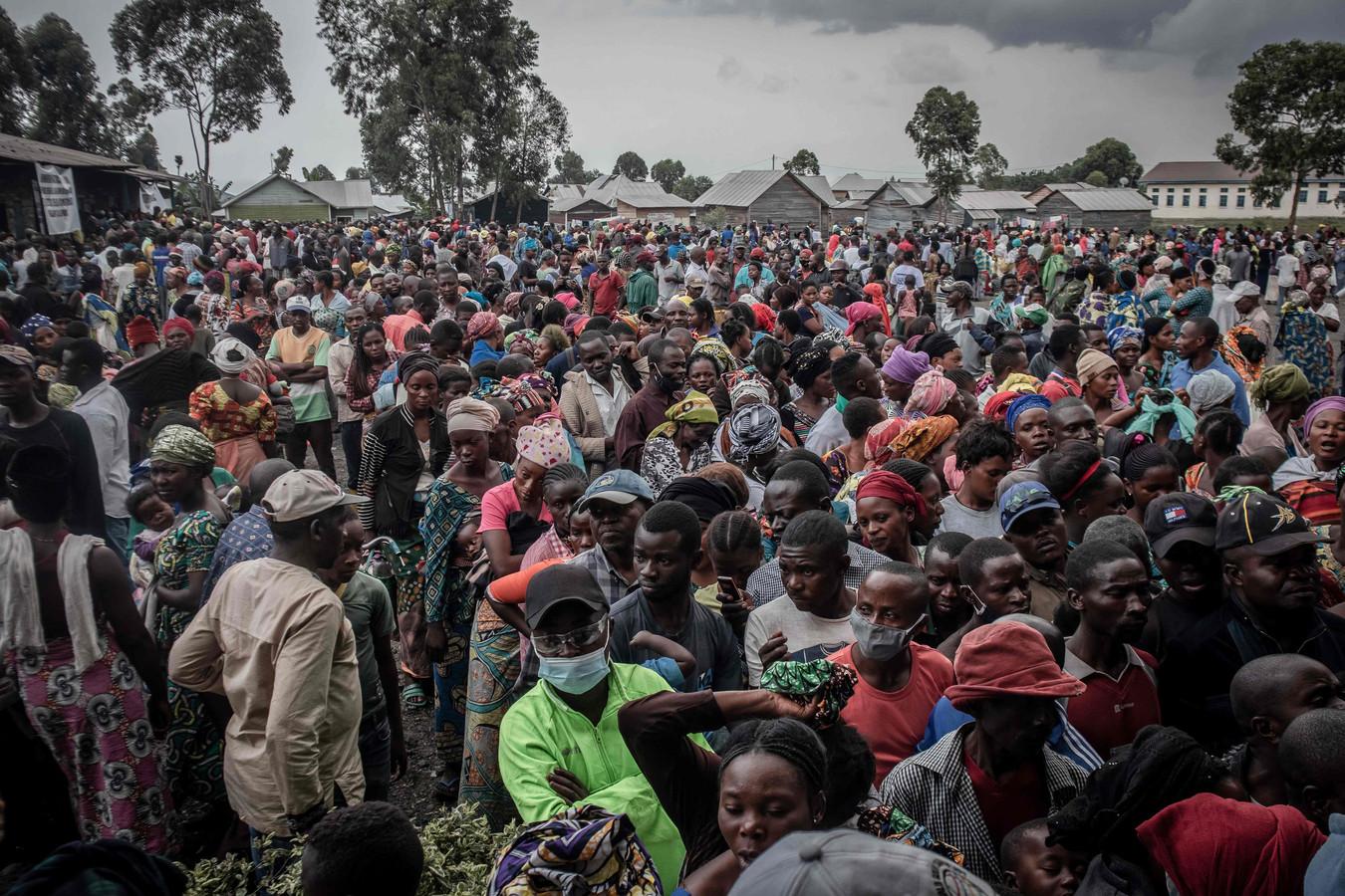 Meer dan 20.000 mensen uit de regio sloegen op de vlucht.