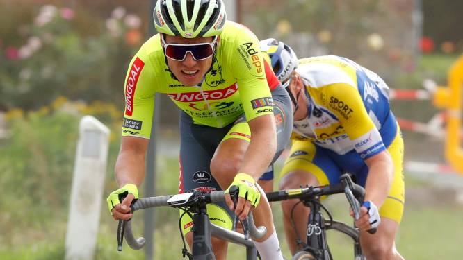 """Dimitri Peyskens zal in de Omloop starten met één koersdag in de benen: """"Ik maak van de nood een deugd"""""""