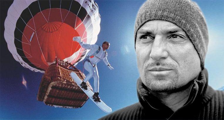 Marc Sluszny is een bekende avonturier. De Franse brandweer vreest dat het lichaam van de Belgische avonturier niet meer gevonden wordt.  Beeld Facebook Marc Sluszny