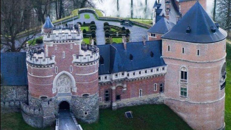 Het kasteel van Gaasbeek. Beeld Google Streetview