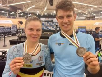 Twee keer zilver op WK baanwielrennen: Kopecky in afvallingskoers, de amper 21-jarige Dens verrassend in scratch
