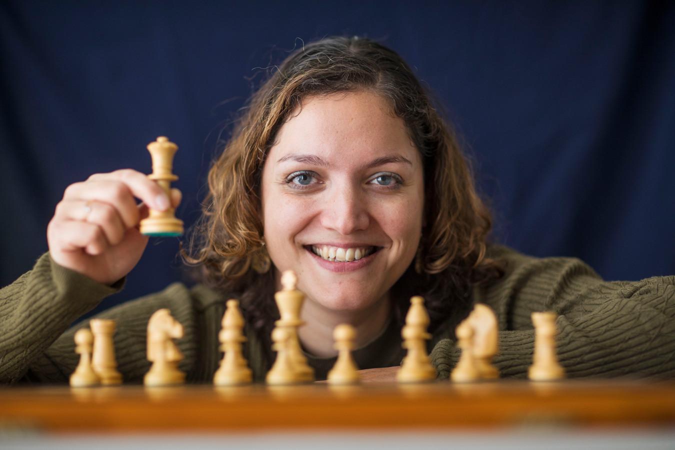 Bianca de Jong-Muhren, nieuwe voorzitter van de schaakbond.
