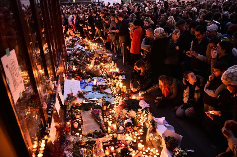 In 2015 kreeg Parijs te maken met de zware aanslagen waarbij jihadisten meer dan 130 levens namen. Beeld AFP