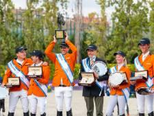 Champagne, eremetaal en tonnen aan prijzengeld voor de Nederlandse springruiters: 'Dit zijn echt hoogtepunten in mijn carrière'
