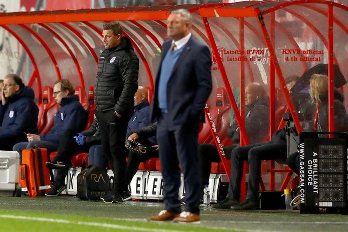 PEC Zwolle-trainer John Stegeman.