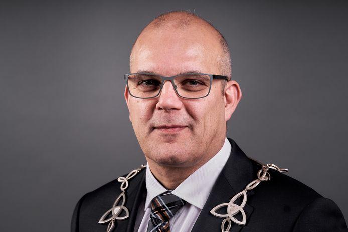 Burgemeester Egbert Lichtenberg (CDA) van de gemeente Altena.