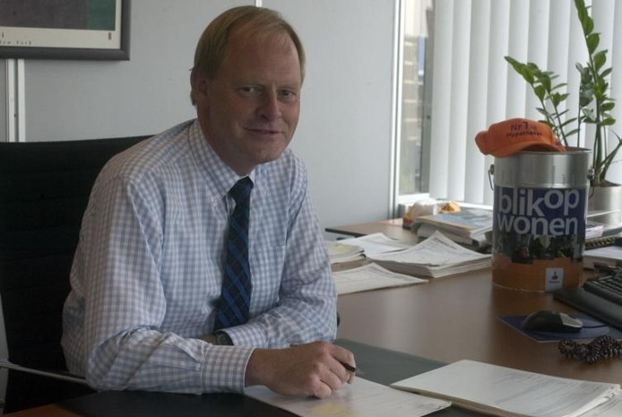 Jos van Lange, de Geldropse financieel directeur van Rabo Vastgoedgroep en directeur van Rabo Nederland. archieffoto Ton de Hond