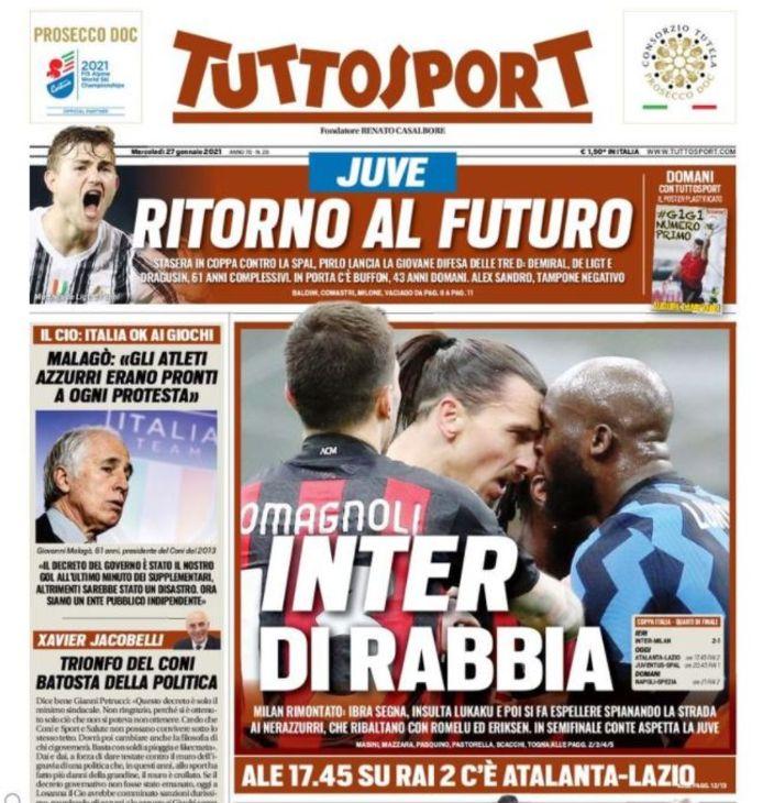 Woedend Inter