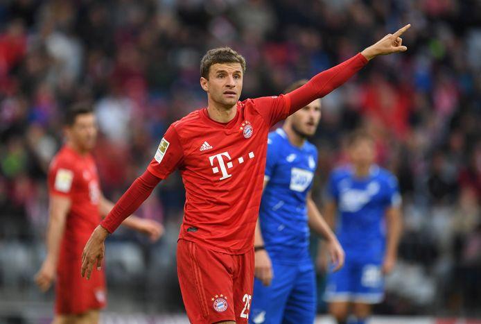 Thomas Müller was in 495 wedstrijden voor Bayern München goed voor 186 goals en 171 assists.