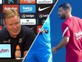 Ronald Koeman: 'De kans bestaat dat Agüero in selectie zit'