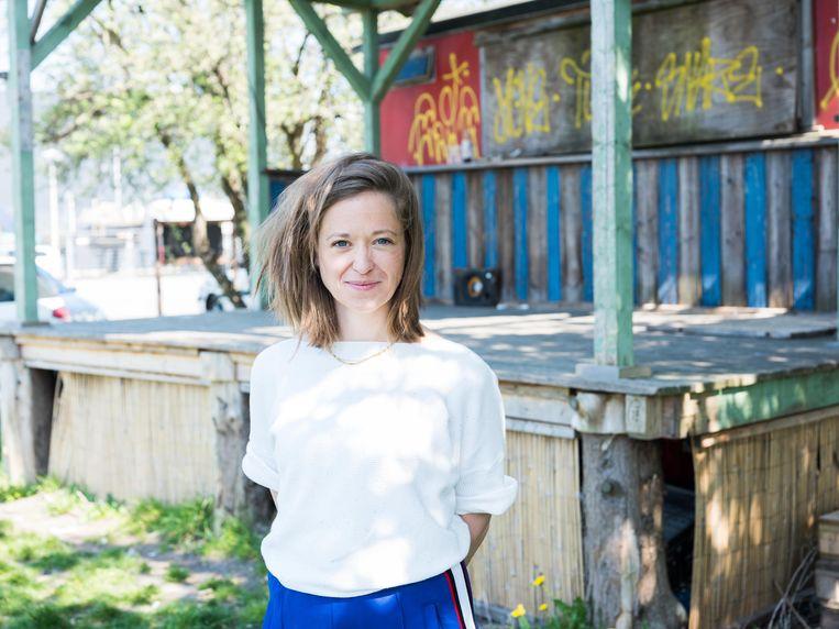 Annechien de Vocht, artistiek leider van theatergroep YoungGangsters Beeld Janita Sassen