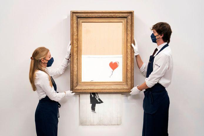"""La Fille au Ballon"" de Banksy"