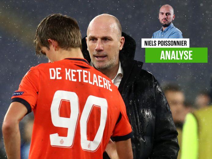 Onze watcher over Club Brugge, dat vorig jaar op 2 centimeter van de achtste finales strandde.