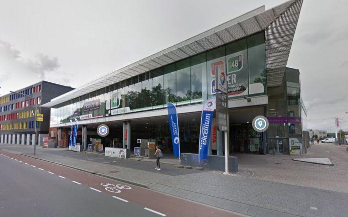 Het Total tankstation aan de Tramsingel in Breda.