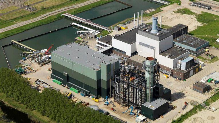De huidige warmtekrachtcentrale van Nuon in Diemen. Beeld Nuon