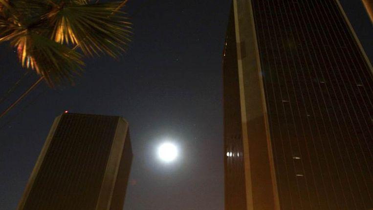 Geen licht op kantoren in San Diego. Beeld reuters