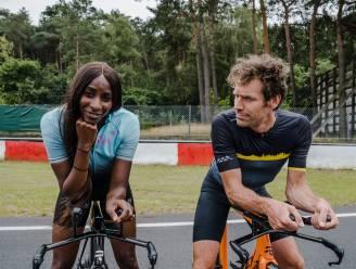 Startschot WK wielrennen weerklinkt zaterdag al op strand van Knokke... en je ziet Elodie en Otto-Jan vertrekken voor rit van hun leven