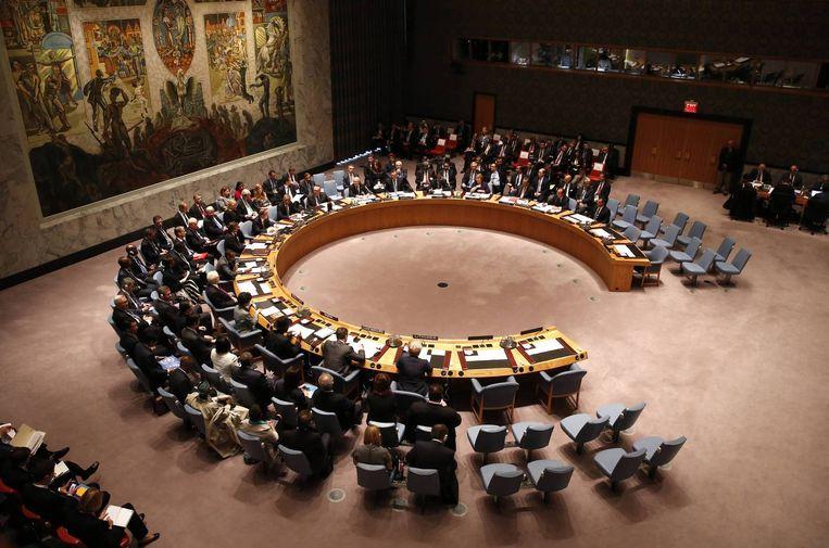 De VN-Veiligheidsraad in New York. Beeld reuters