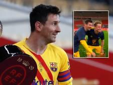 Op audiëntie bij 'koning Messi': Dest, De Jong en al die anderen 'mogen' op de foto