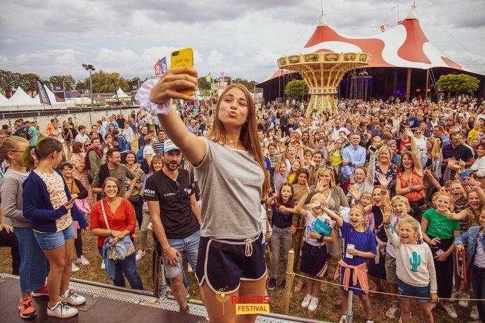 De organisatoren van Rijvers Festival dromen al weer van een vol festivalterrein.