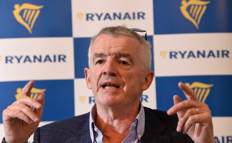 CEO Ryanair Michael O'Leary. Beeld Photo News