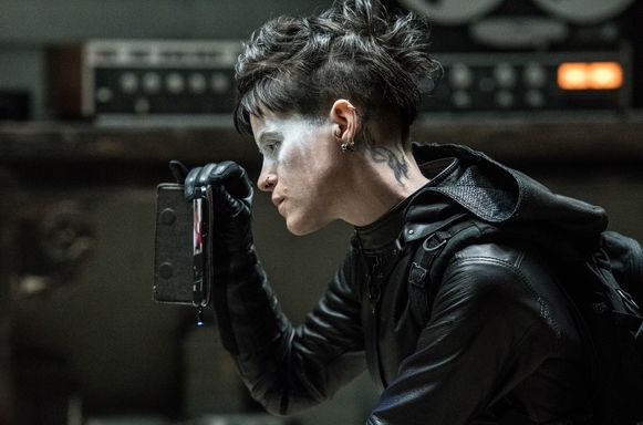 Claire Foy in 'The Girl in the Spider's Web'.