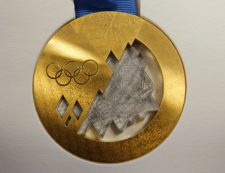 Gouden medaille Beeld ap