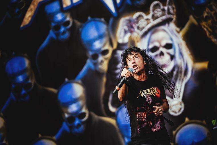Anthrax op Graspop 2019. Beeld Stefaan Temmerman