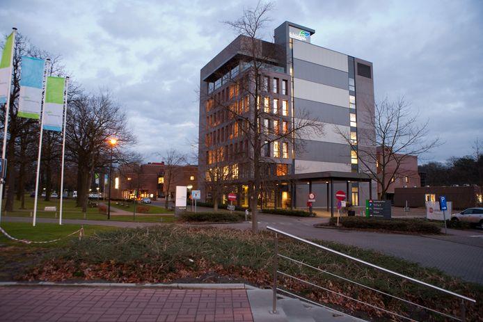 Campus Sint-Jozef van AZ Turnhout. Op die site staat al de bouw van een nieuw ziekenhuis gepland maar die gaat niet door als de ziekenhuizen fuseren.