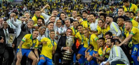 Brazilië wint voor negende keer Copa América na zege op Peru