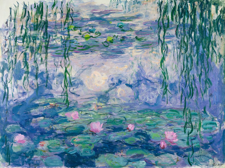 Claude Monet, Waterlelies, 1916-1919