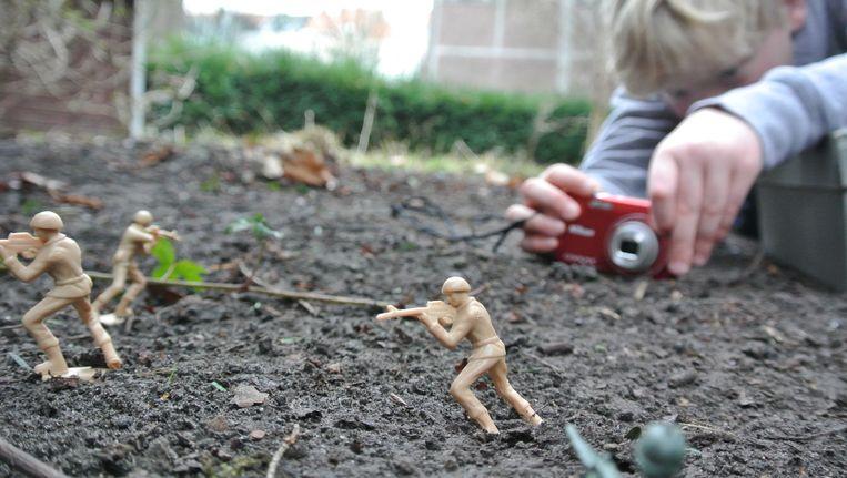 Voor haar vorige expo 'Kleine ARTiesten' werkte Raes al samen met jongeren. Beeld Evy Raes
