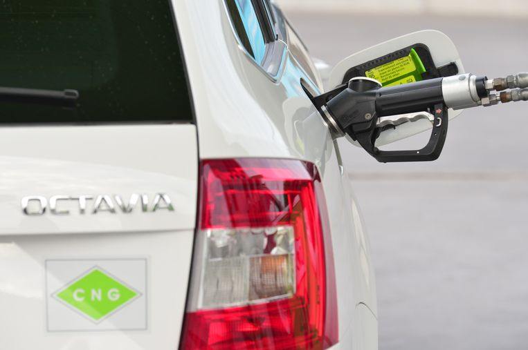 In 2017 werden 2.487 auto's op aardgas verkocht.