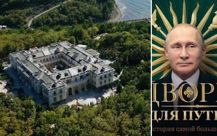 Selon l'opposant russe Alexeï Navalny, Vladimir Poutine a détourné des milliards de roubles pour construire ce palais.
