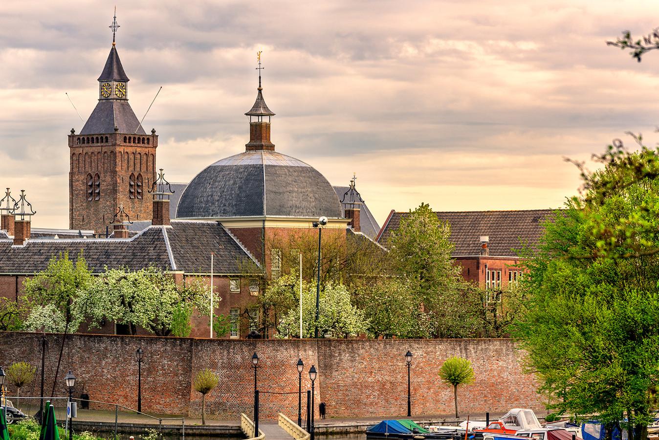 Hofje van Mevrouw van Aerden in Leerdam.
