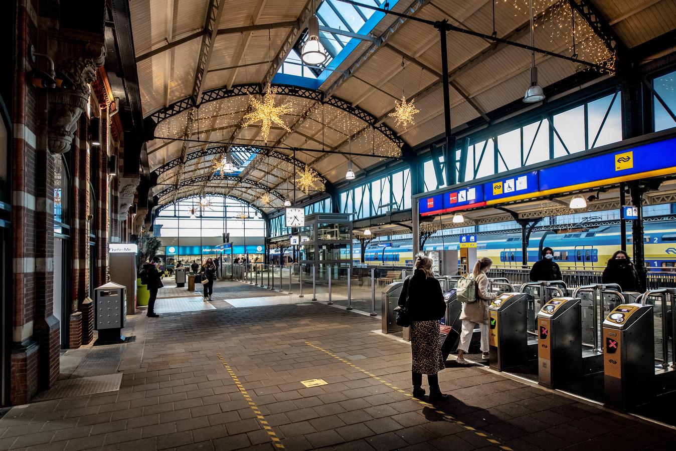 Het Nijmeegse station.