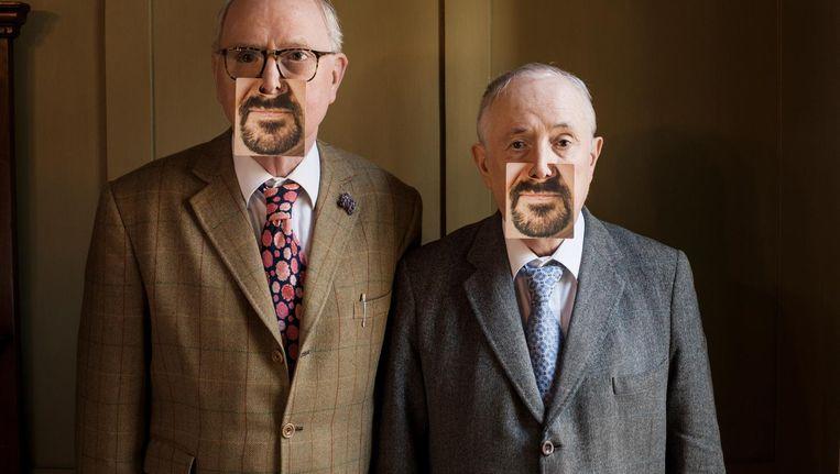 George, links: 'Bij baarden gaat het al snel over moslims' Beeld Koos Breukel