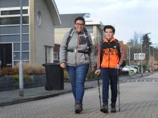 Levi (12) wandelt van Vlissingen naar oma in Vught om ouderen te steunen: 'Alleen code rood houdt me tegen'