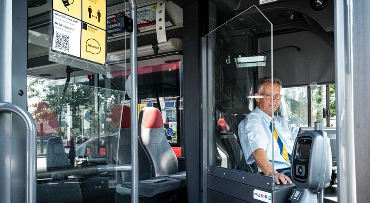 Stadsbus in Eindhoven.  Beeld ANP Rob Engelaar